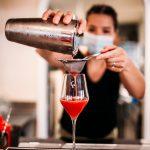 préparation cocktail